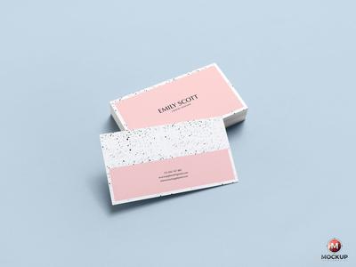 Free Brand Business Card Mockup Psd