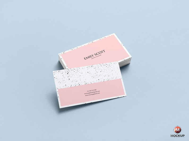 Download Free Brand Business Card Mockup Psd