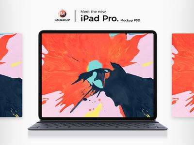 iPad Pro 2018 (Mockup Free)