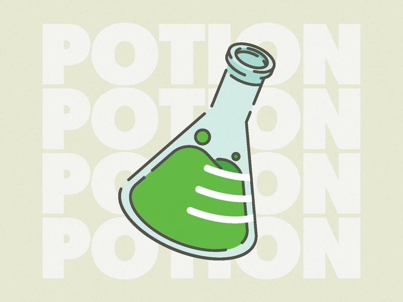Pot up! illustration design illustrator lineart line isometric drink potion vector grunge illustration design goofy