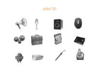 Jollof 3D Icons