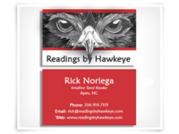 Hawkeye Business Card