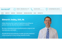 Edward S. Bailey, DDS, PA – website