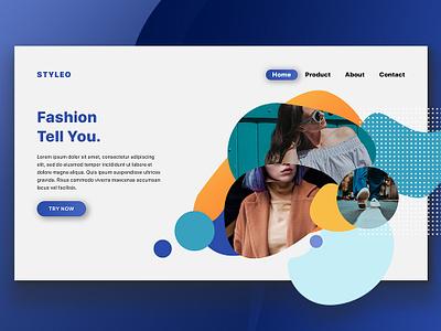 Styleo Homepage homepage uidesign ui  ux design web design userinterface