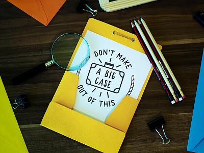 FREE Mock-up! Top Secret free freebie mock mockup folder travel desk design pen spy detective
