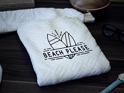 FREE Mock-up! Beach Please! summer sun surf funny beach sweater clothing freebie free mockup mock shirt