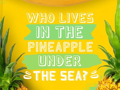 FREE Font - Monky Regular banana sponge bob pineapple sea regular monkey font freebie free