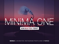 Minima One - Animated Font