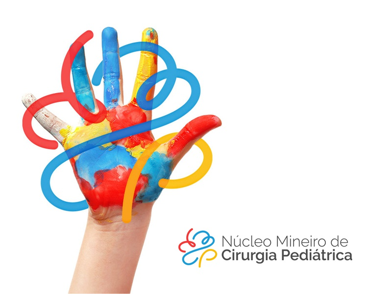 NMCP - Núcleo Mineiro de Cirurgia Pediátrica branding identity health center logo branding design
