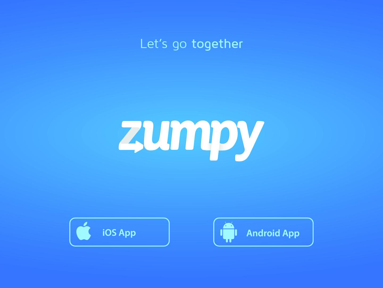 Rebrand Zumpy logo logotype transport rebrand branding design