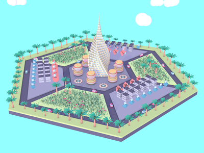 We Built This City schoolofmotion modeling c4d