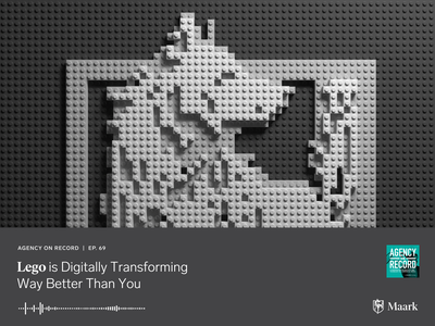 Lego is Digitally Transforming lego wolf podcast digital illustration c4d design