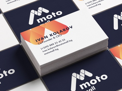 MotoMall Business card Concept