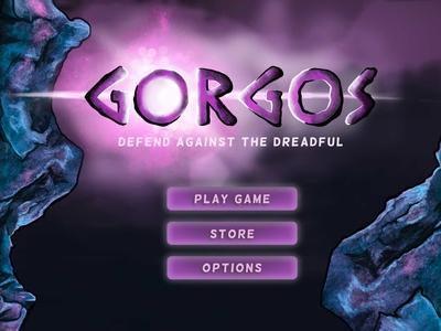Gorgos Game Title Screen