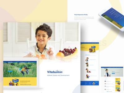 Kids Herbal Supplements Website #2