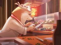 Shiba Sushi Chef