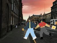Edinburgh Sunset - 5/5