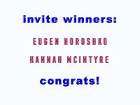 Invite Winners