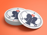 Branded Coasters