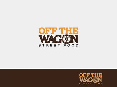 Off The Wagon Street Food Logo