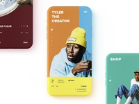 Tyler, the Creator mobile concept