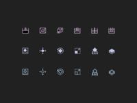 3D Printering Icons