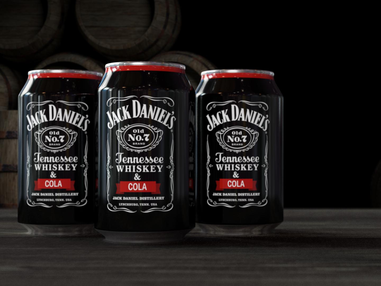 Jack Daniels motion design motion graphics cinema4d