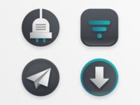 macOS icons for light mode