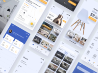 Presentation App Concept Ikea diseño gráfico aplicación diseño de la aplicación design sketch graphic ux ui appdesign prototype designinspiration uiux visualdesign ikea app branding product concept app furniture icono tipografía
