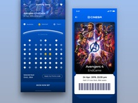 Movie Booking App Concept concept booking movie tipografía furniture concept app product app branding visualdesign uiux designinspiration prototype appdesign ui ux sketch design diseño de la aplicación aplicación diseño gráfico