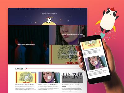 Pandarocketship Homepage