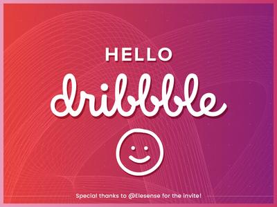 Hello Dribbble! - Debut Shot