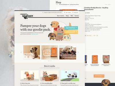 Dog Goodies Subscription Website