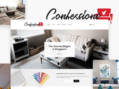 Confessions of an Interior Designer Website