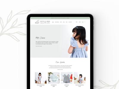 Sash & Sage Website