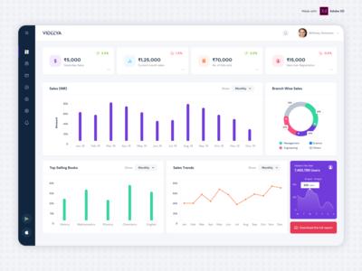 Videeya- Sales Dashboard