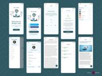 Braigo- The accessibility app branding web animation design flat typography vector illustration visual design ux