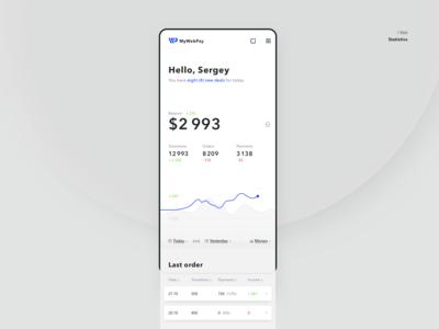 Admin — main page