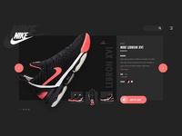 Sneakers Shop Website (2/2)