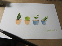 Cute Potted