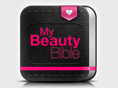 My Beauty Bible Icon ios android icon my beauty bible iphone ipad