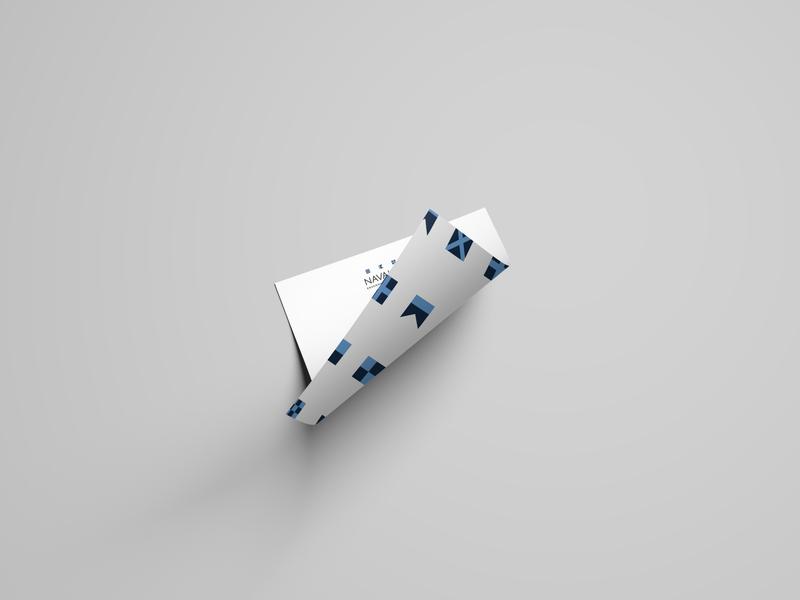 Naval Care  - Flags   Letterhead branding mockup logo design