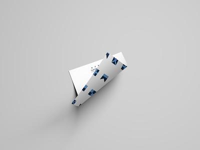 Naval Care  - Flags | Letterhead branding mockup logo design
