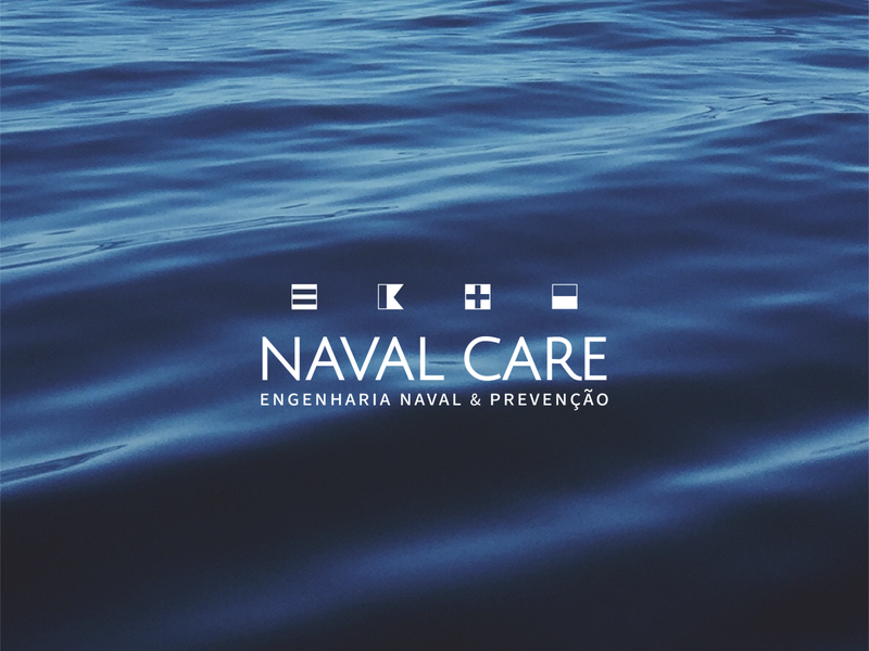 Naval Care branding logo design