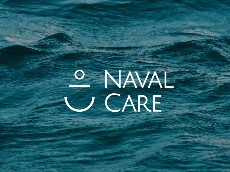 Naval Care - Anchor branding logo design