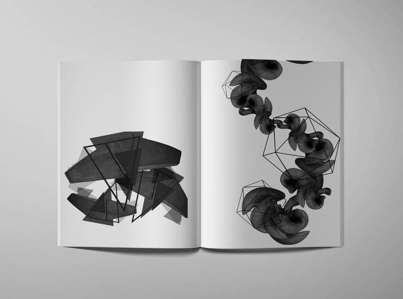 Architectural Narrative - Contemporary 2 photo montage editorial mockup design
