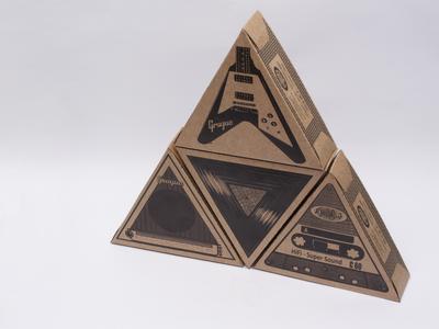 Grogue - Packaging stack display photography illustration packaging mockup design