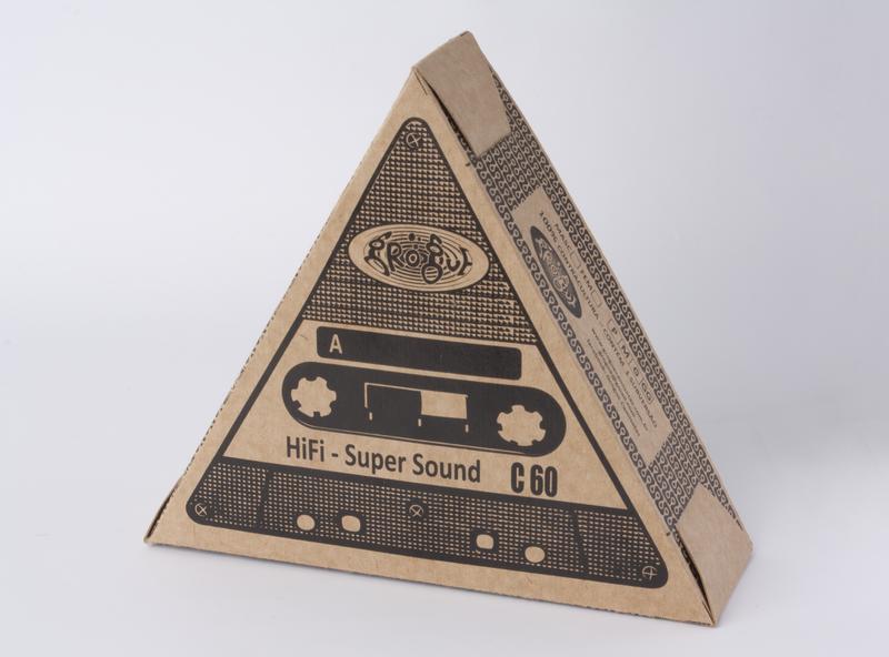 Grogue - Cassette tape photography illustration packaging mockup design