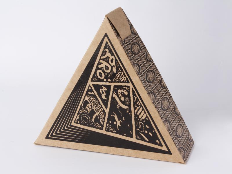 Grogue - Graphic novel photography packaging illustration mockup design