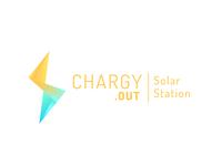 Chargy - Horizontal logo visual identity logo design